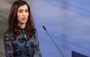 "Nadia Murad: ""The genocide is not over yet"""